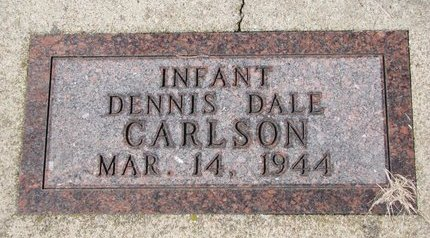 CARLSON, DENNIS DALE - Knox County, Nebraska | DENNIS DALE CARLSON - Nebraska Gravestone Photos