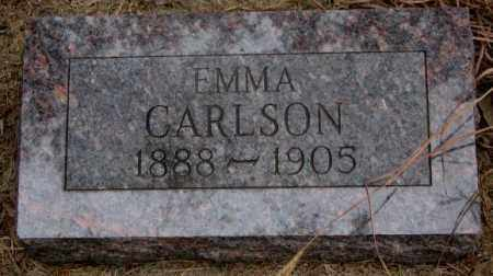 CARLSON, EMMA - Knox County, Nebraska   EMMA CARLSON - Nebraska Gravestone Photos