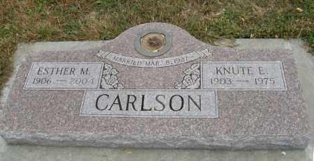 CARLSON, ESTHER M. - Knox County, Nebraska | ESTHER M. CARLSON - Nebraska Gravestone Photos