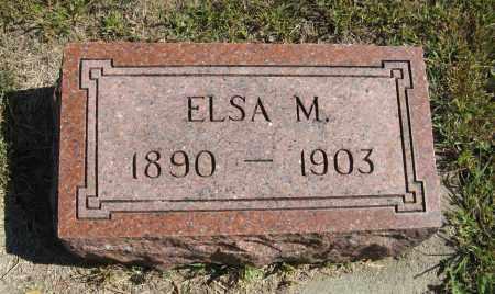 CARLSON, ELSA M. - Knox County, Nebraska | ELSA M. CARLSON - Nebraska Gravestone Photos