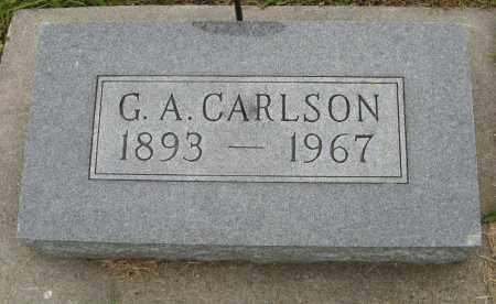 CARLSON, G. A. - Knox County, Nebraska | G. A. CARLSON - Nebraska Gravestone Photos