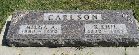 CARLSON, K. EMIL - Knox County, Nebraska | K. EMIL CARLSON - Nebraska Gravestone Photos