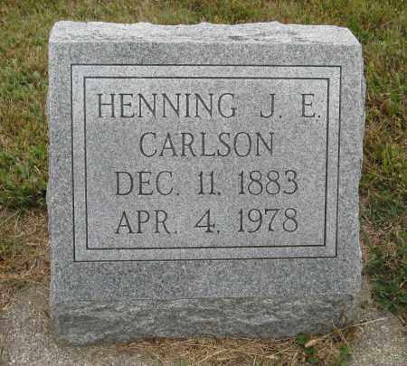 CARLSON, HENNING J. E. - Knox County, Nebraska   HENNING J. E. CARLSON - Nebraska Gravestone Photos