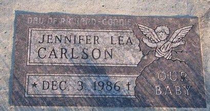 CARLSON, JENNIFER LEA - Knox County, Nebraska | JENNIFER LEA CARLSON - Nebraska Gravestone Photos