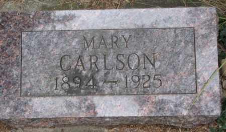 CARLSON, MARY - Knox County, Nebraska   MARY CARLSON - Nebraska Gravestone Photos