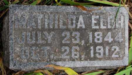 CARLSON, MATHILDA ELDH - Knox County, Nebraska | MATHILDA ELDH CARLSON - Nebraska Gravestone Photos