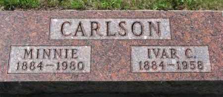 CARLSON, MINNIE - Knox County, Nebraska | MINNIE CARLSON - Nebraska Gravestone Photos