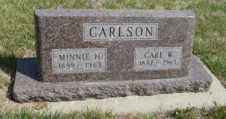 CARLSON, MINNIE H. - Knox County, Nebraska | MINNIE H. CARLSON - Nebraska Gravestone Photos