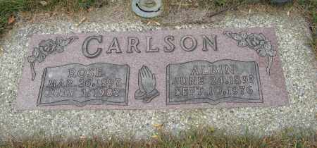 CARLSON, ROSE - Knox County, Nebraska | ROSE CARLSON - Nebraska Gravestone Photos