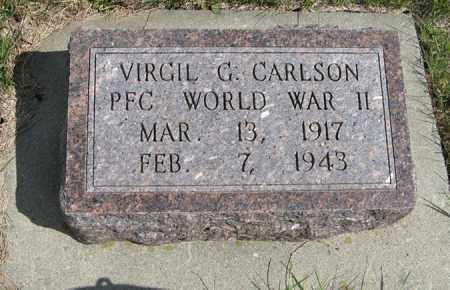 CARLSON, VIRGIL G. - Knox County, Nebraska | VIRGIL G. CARLSON - Nebraska Gravestone Photos