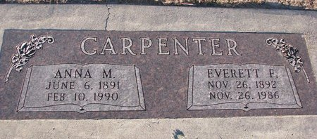 CARPENTER, EVERETT F. - Knox County, Nebraska | EVERETT F. CARPENTER - Nebraska Gravestone Photos