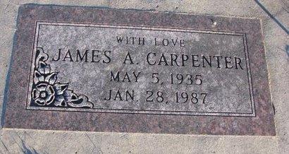 CARPENTER, JAMES A. - Knox County, Nebraska | JAMES A. CARPENTER - Nebraska Gravestone Photos