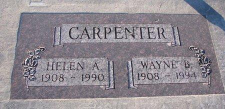 CARPENTER, WAYNE B. - Knox County, Nebraska | WAYNE B. CARPENTER - Nebraska Gravestone Photos