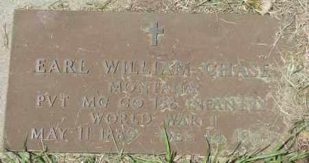 CHASE, EARL WILLIAM - Knox County, Nebraska | EARL WILLIAM CHASE - Nebraska Gravestone Photos