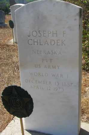 CHLADEK, JOSEPH F. - Knox County, Nebraska | JOSEPH F. CHLADEK - Nebraska Gravestone Photos