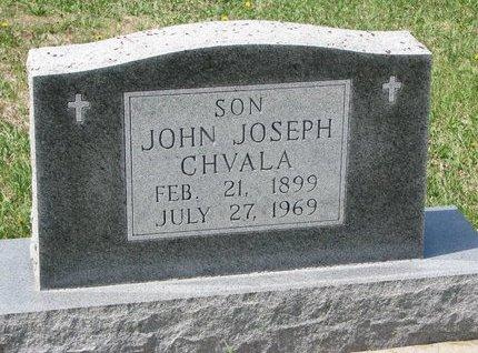 CHVALA, JOHN JOSEPH - Knox County, Nebraska | JOHN JOSEPH CHVALA - Nebraska Gravestone Photos
