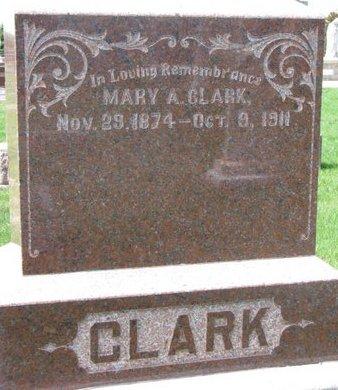 KALAL CLARK, MARY A. - Knox County, Nebraska | MARY A. KALAL CLARK - Nebraska Gravestone Photos