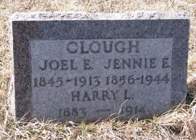"CLOUGH, MARTHA EUGENIA ""JENNIE"" - Knox County, Nebraska 