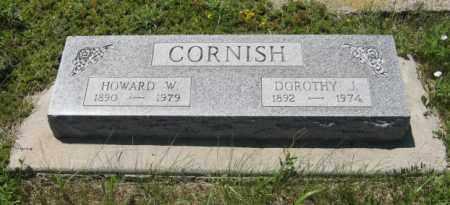 CORNISH, DOROTHY J. - Knox County, Nebraska   DOROTHY J. CORNISH - Nebraska Gravestone Photos
