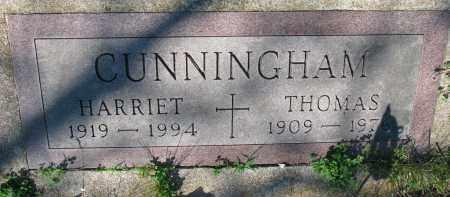 CUNNINGHAM, THOMAS - Knox County, Nebraska | THOMAS CUNNINGHAM - Nebraska Gravestone Photos