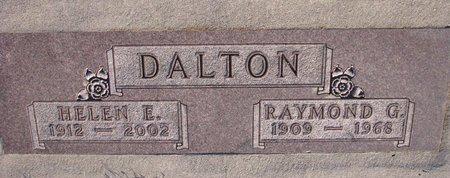 DALTON, RAYMOND G. - Knox County, Nebraska | RAYMOND G. DALTON - Nebraska Gravestone Photos