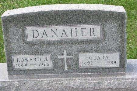 ERICKSON DANAHER, CLARA - Knox County, Nebraska | CLARA ERICKSON DANAHER - Nebraska Gravestone Photos