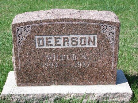 DEERSON, WILBUR N. - Knox County, Nebraska | WILBUR N. DEERSON - Nebraska Gravestone Photos