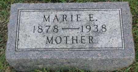 DIBBERT, MARIE E. - Knox County, Nebraska | MARIE E. DIBBERT - Nebraska Gravestone Photos
