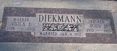 DIEKMANN, VIOLA L. - Knox County, Nebraska | VIOLA L. DIEKMANN - Nebraska Gravestone Photos