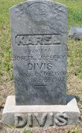 DIVIS, KAREL - Knox County, Nebraska | KAREL DIVIS - Nebraska Gravestone Photos