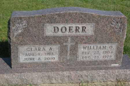 DOERR, WILLIAM O. - Knox County, Nebraska   WILLIAM O. DOERR - Nebraska Gravestone Photos
