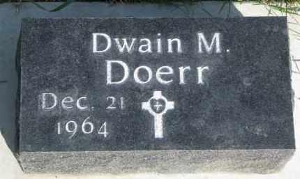 DOERR, DWAIN M. - Knox County, Nebraska | DWAIN M. DOERR - Nebraska Gravestone Photos