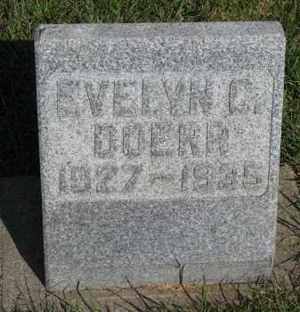 DOERR, EVELYN C. - Knox County, Nebraska   EVELYN C. DOERR - Nebraska Gravestone Photos