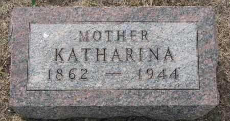 DOERR, KATHARINA - Knox County, Nebraska | KATHARINA DOERR - Nebraska Gravestone Photos