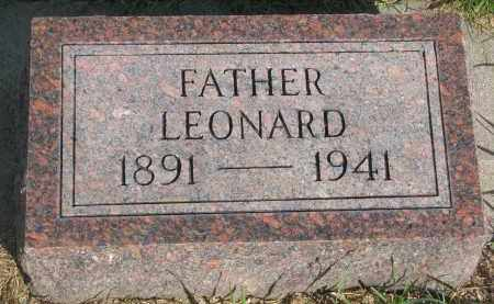 DOERR, LEONARD - Knox County, Nebraska | LEONARD DOERR - Nebraska Gravestone Photos