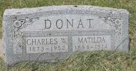 DONAT, MATILDA - Knox County, Nebraska | MATILDA DONAT - Nebraska Gravestone Photos