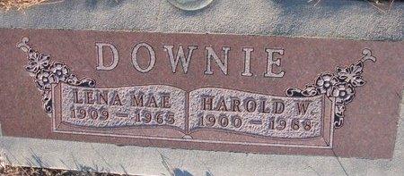 DOWNIE, LENA MAE - Knox County, Nebraska | LENA MAE DOWNIE - Nebraska Gravestone Photos