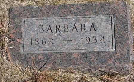 DROBNY, BARBARA - Knox County, Nebraska   BARBARA DROBNY - Nebraska Gravestone Photos