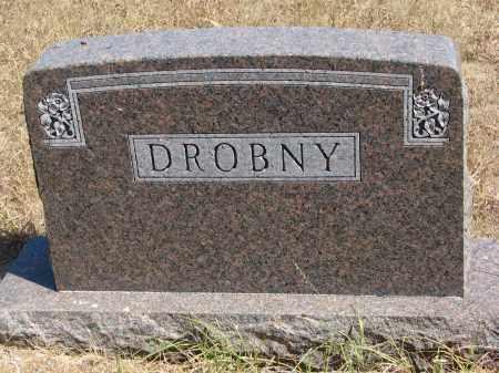 DROBNY, PLOT STONE - Knox County, Nebraska   PLOT STONE DROBNY - Nebraska Gravestone Photos