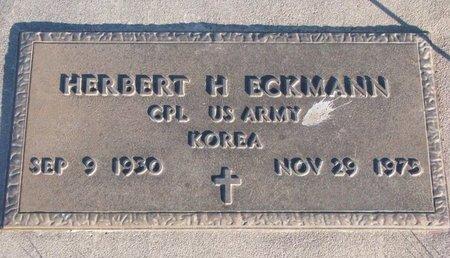 ECKMANN, HERBERT H. - Knox County, Nebraska | HERBERT H. ECKMANN - Nebraska Gravestone Photos