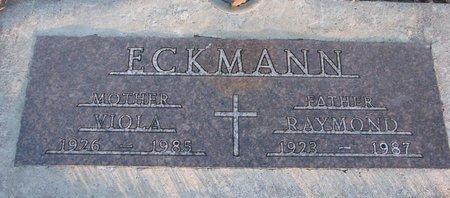 ECKMANN, VIOLA - Knox County, Nebraska | VIOLA ECKMANN - Nebraska Gravestone Photos