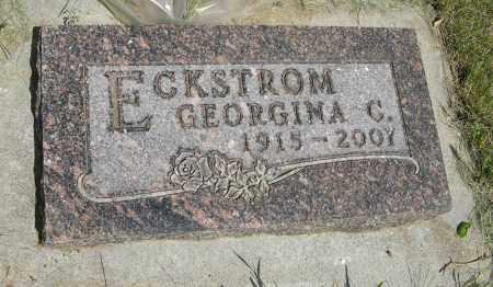 ECKSTROM, GEORGINA C. - Knox County, Nebraska | GEORGINA C. ECKSTROM - Nebraska Gravestone Photos