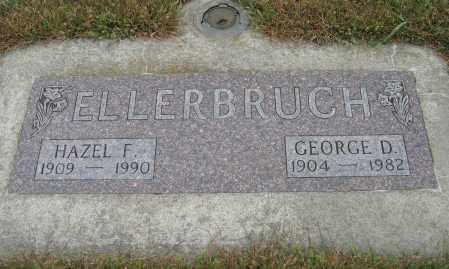 ELLERBRUCH, HAZEL F. - Knox County, Nebraska | HAZEL F. ELLERBRUCH - Nebraska Gravestone Photos