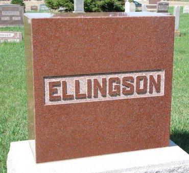 ELLINGSON, *FAMILY MONUMENT - Knox County, Nebraska | *FAMILY MONUMENT ELLINGSON - Nebraska Gravestone Photos