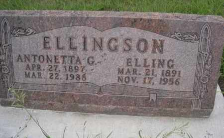 ELLINGSON, ELLING - Knox County, Nebraska | ELLING ELLINGSON - Nebraska Gravestone Photos