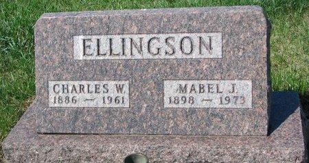 ELLINGSON, CHARLES W. - Knox County, Nebraska | CHARLES W. ELLINGSON - Nebraska Gravestone Photos