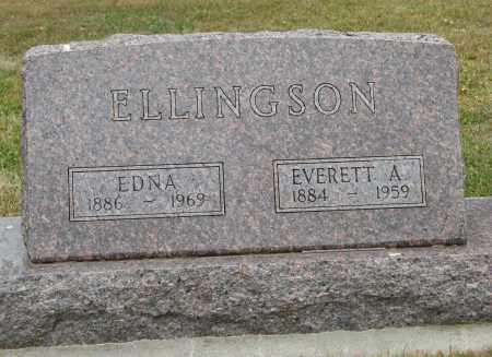 ELLINGSON, EDNA - Knox County, Nebraska | EDNA ELLINGSON - Nebraska Gravestone Photos