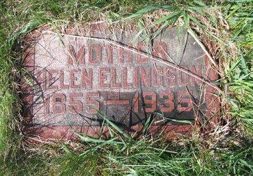 KETTLESON ELLINGSON, HELEN - Knox County, Nebraska | HELEN KETTLESON ELLINGSON - Nebraska Gravestone Photos
