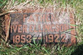 ELLINGSON, IVER - Knox County, Nebraska | IVER ELLINGSON - Nebraska Gravestone Photos