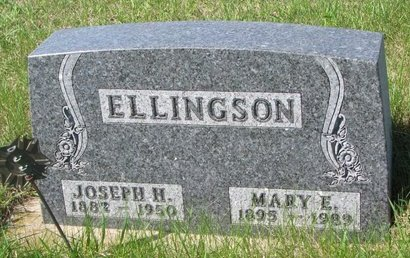 POST ELLINGSON, MARY ELLEN - Knox County, Nebraska   MARY ELLEN POST ELLINGSON - Nebraska Gravestone Photos